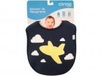 Babador Avião Fecho Velcro  - Clingo