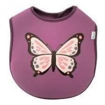 Babador de neoprene borboleta Clingo -