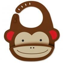 Babador de Silicone Zoo Macaco Skip Hop - Skip Hop