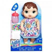 Baby Alive Hora do Xixi Morena - E0499 - Hasbro -