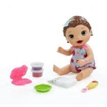 Baby Alive Lanchinhos Divertidos Morena - C2698 - Hasbro -