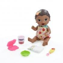 Baby Alive Negra Hora do Lanchinho - Hasbro - hasbro