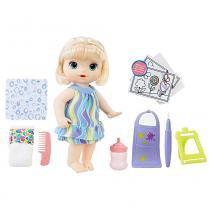 Baby Alive Pequena Artista Loira - Hasbro - hasbro