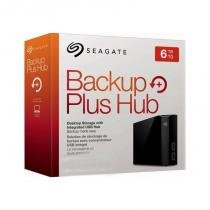 Backup Plus Hub 6TB externo - Seagate