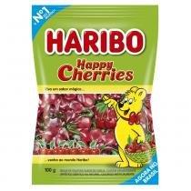 Bala de Gelatina Happy Cherries 100g - Haribo -