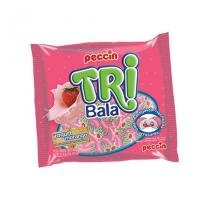Bala Tri Yogurt de Morango 600g Peccin - Festabox