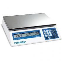 Balança Contadora de Bancada, 110/220 VCA, 30 kg, Display em Cristal Líquido - 3400 - Toledo do Brasil