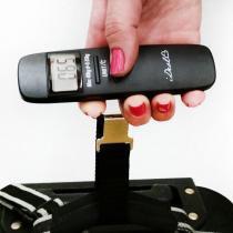 Balança de Bagagem Ideal com visor digital de Peso e Temperatura - I-deal