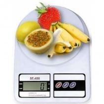 Balanca Digital De Cozinha Sf400 - Ate 10kg - Branca - Importado