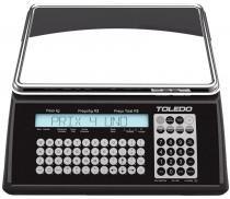 Balança eletrônica 15 kg toledo p4 uno web - Tol.dobras