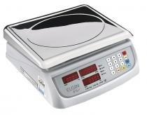Balança eletrônica 15kg elgin led com bateria -