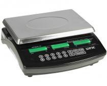 Balança eletrônica 30 kg upx com bateria acqua -