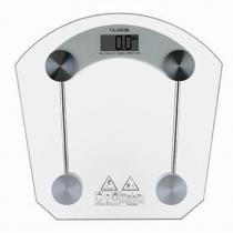 Balança Eletrônica Digital 150 kgs Quadrada Vidro Temperado - House
