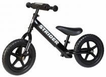 """Balance bike Strider Sport Preto / Preto aro 12"""" -"""