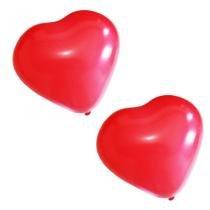 Balão de Látex Coração n10 25cm 25 unidades Pic Pic -