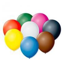 Balão de Látex Cores Sortidas 50 unidades - São Roque - Festabox