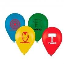 Balão de Látex Os Vingadores 25 unidades Regina Festas -