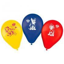Balão de Látex Patrulha Canina 25 unidades Regina Festas - Festabox