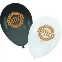 """Balão decorativo 9"""" Boteco Festcolor com 25 unidades -"""