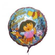 Balão Metalizado Dora A Aventureira n18 - Festabox