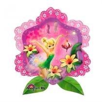 Balão Metalizado Flor Fadas Anagram - Festabox