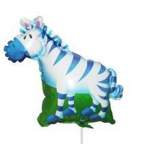 Balão Metalizado Mini Shape Zebra - Festabox