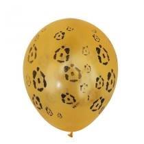 Balão Safari na África Leopardo n 10 25 cm 25 unidades - Balloontech