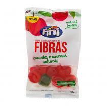 Balas de gelatina fini natural sweets fibras 18g -