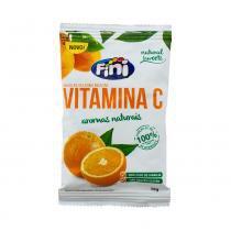 Balas de Gelatina Fini Natural Sweets Vitamina C 18g -