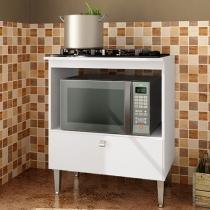 Balcão com Tampo para Cooktop Art In Móveis - 1 Gaveta BL1070