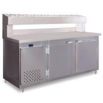 Balcão Condimentado 3 portas 720 litros RF045 Frilux - 110v - Frilux