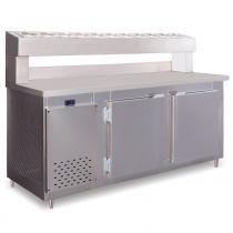 Balcão Condimentado 4 portas 860 Litros RF049 Frilux - 110v - Frilux