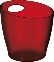 Balde de Gelo 6L Vermelho Poliestireno UZ100-VM - UZ Utilidades - UZ Utilidades