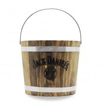 Balde de Madeira Jack Daniels Old Brand Jack Daniels