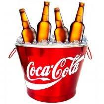 Balde De Refrigerante Coca-cola 7,5l - Versare anos dourados
