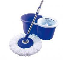 Balde mop escorredor 360 limpeza fácil bompak - Embrast
