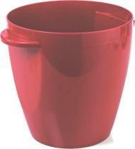 Balde para gelo Cooler 3,5 litros vermelho - Ou Acrílicos