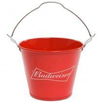 Balde redar de alumínio budweiser 5 litros vermelho pr 8177 - Lowepro