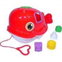 Baleia Didática - Merco Toys - Mercotoys