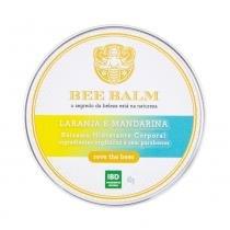 Bálsamo Hidratante Corporal Natural Laranja e Mandarina 60g  Bee Balm - Bee Balm