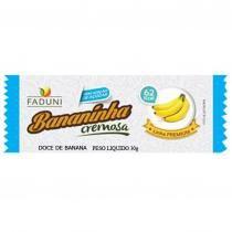 Bananinha cremosa sem açúcar 30g - Fabrica d.u.s.carmo