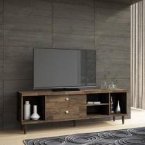 Bancada 180x60cm p/ TVs até 70 Pol. c/ 2 Portas Desliz. - HB Harmonize -