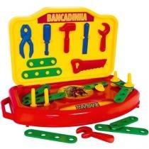 Bancadinha de Ferramentas Heróis da Toys - com Acessórios Super Toys