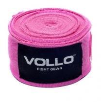 Bandagem Elástica Vollo VFG115 de 5cm x 3m Rosa - Vollo