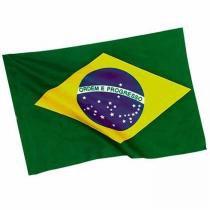 Bandeira do Brasil 60cm x 90cm Copa do Mundo 2 PC Poliester YDH-BR0013 - Yang dong