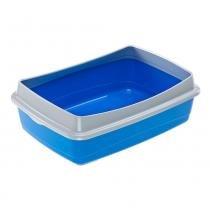 Bandeja Sanitária Ferplast Nip Plus Azul -