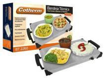 Bandeja térmica com regulagem de temperatura Cotherm - Alimentos aquecidos, quente sempre -