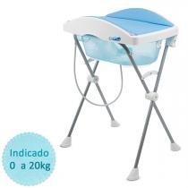 Banheira de Bebê Burigotto Tchibum - Azul - Azul - Neutro - Burigotto