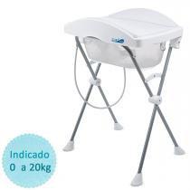 Banheira de Bebê Burigotto Tchibum - Branca -
