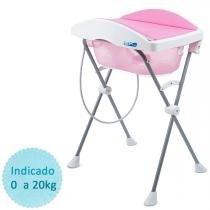 Banheira de Bebê Burigotto Tchibum - Rosa - Burigotto